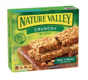 crunchy granola bars perfect for camping trips with no refrigeration