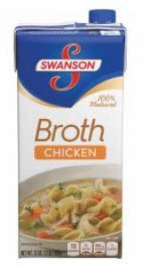 carton of chicken broth