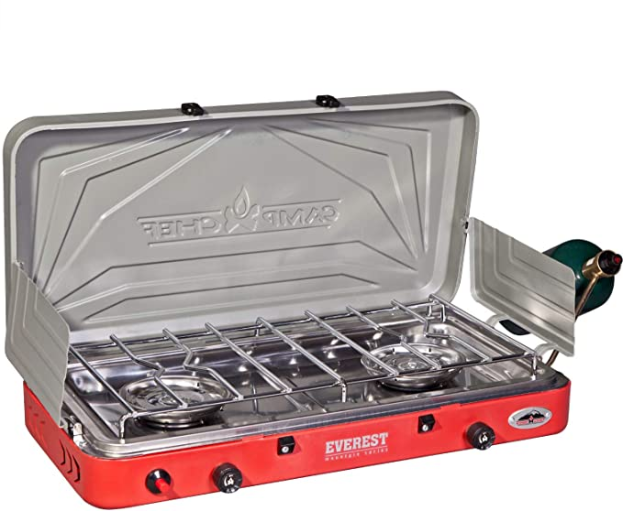 2 Burner Stove for camping