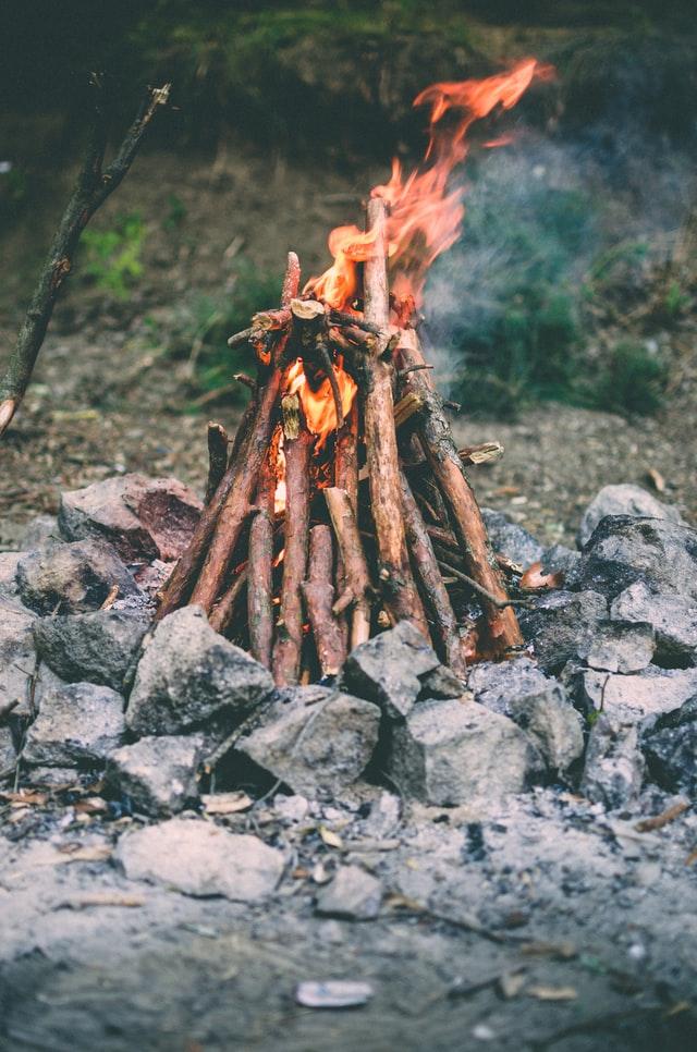 campfire cone method