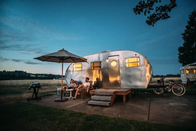 camping rv trailer